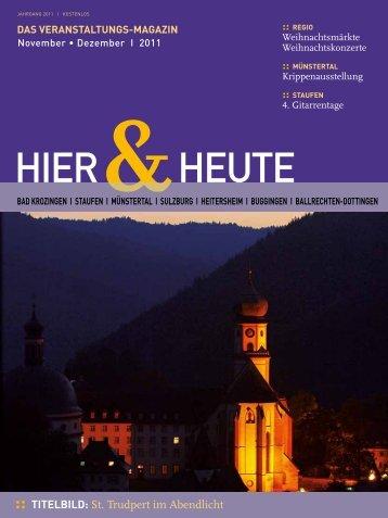 Verlosung: Hauptpreis 1 farbikneues Auto ... - Gemeinde Sulzburg