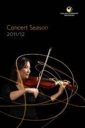 Concert Season 2011/12