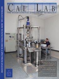 metrology 101 - Cal Lab Magazine