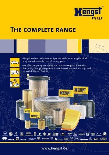 The Complete Range - Hengst GmbH & Co. KG