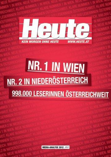 Media-Analyse 2012 Folder - Heute.at
