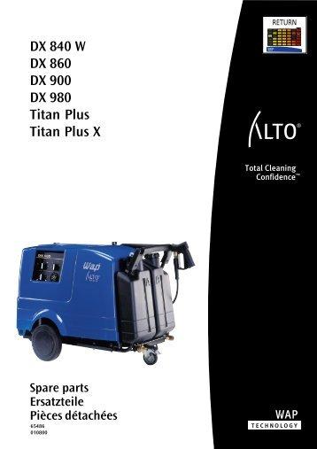 Download pdf: Ersatzteilliste DX-Titan plus