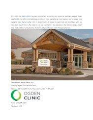 Ogden Clinic Mountain View