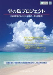 宝の島プロジェクトリーフレット(PDF形式 5.3MB) - 日本海難防止協会