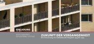 ZUKUNFT DER VERGANGENHEIT - Wüstenrot Stiftung