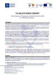 Il Progetto La salute senza confini.pdf - Inmp