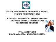 auditorias de convenios - Caja del Seguro Social