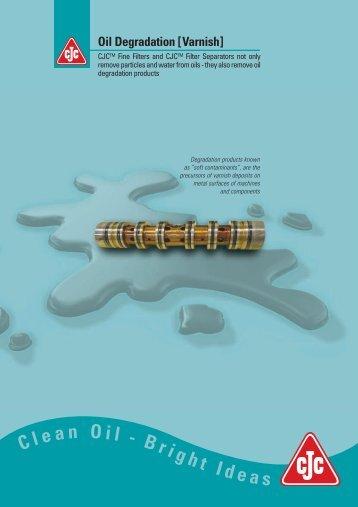 Oil Degradation (Varnish) - Cjc.dk