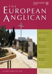 Spring 2012 - Diocese in Europe