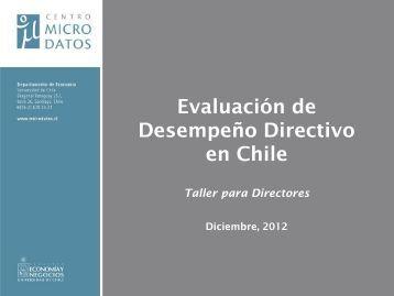 Evaluación de Desempeño de Directores