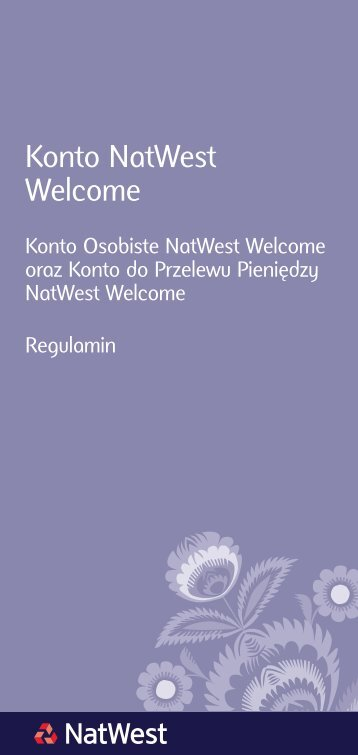 Konto NatWest Welcome