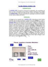 FILTRO PRENSA ECIRTEC FPE - CORA