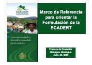 Presentación Marco de Referencia para orientar la Formulación de ...