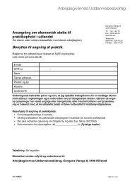 Tilskud til rejseudgifter med henblik på at lave aftale om ... - ATP