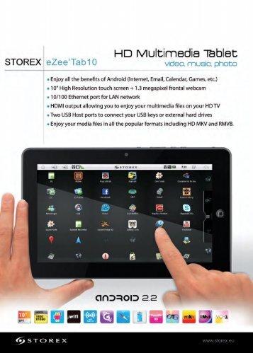 Hi3 Multimedia Tablet - Premier Digital Media