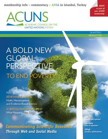 Download IM No. 3 2013 here - acuns