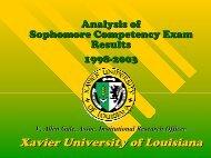 Communicating Bad News - Xavier University of Louisiana