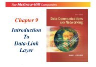 Chapter 9 Introduction To Data-Link Layer