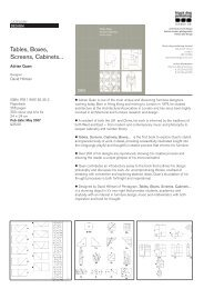 Tables, Boxes, Screens, Cabinets... - Black Dog Publishing