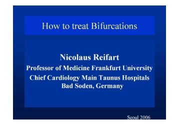 How to treat Bifurcations - summitMD.com
