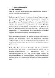 Wohnbereich 2 PHS - Bezirksverband Oldenburg
