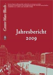 den Jahresbericht 2009 - Centre Marc Bloch - HU Berlin