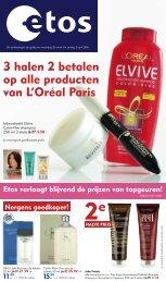 3 halen 2 betalen op alle producten van L'oréal Paris - Ahold