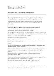 Guía para citas y referencias bibliograficas