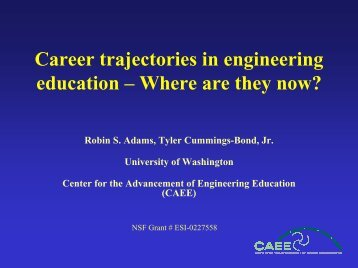 presentation slides - College of Engineering - University of ...