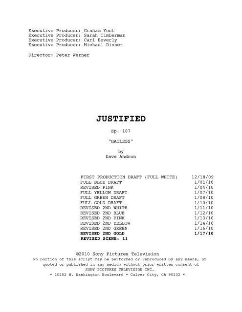 JUSTIFIED - Zen134237.zen.co.uk