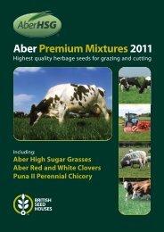 Aber Premium Mixtures 2011 - British Seed Houses