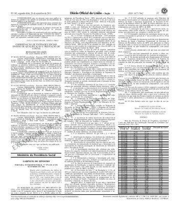 EXEMPLAR DE ASSINANTE DA IMPRENSA NACIONAL - Tribunal ...