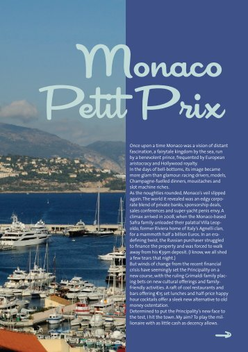 Monaco Petit Prix - Rutherford Tomasetti Partners SARL