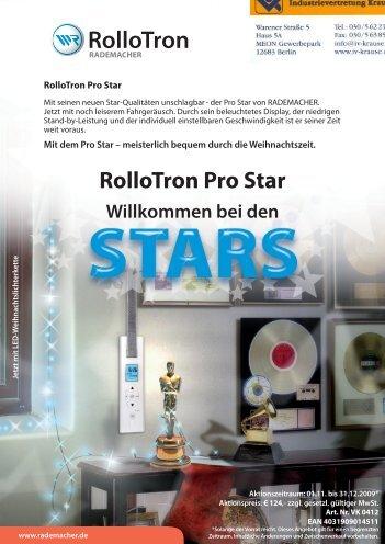 + RolloTron Pro Star - Industrievertretung R. Krause GmbH