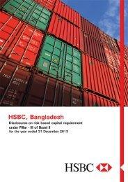 Basel II Disclosures - HSBC Bangladesh