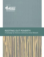 ROOTING OUT POVERTY: - Action for a Better Community
