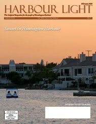 Sunset in Huntington Harbour - Harbour Light Magazine