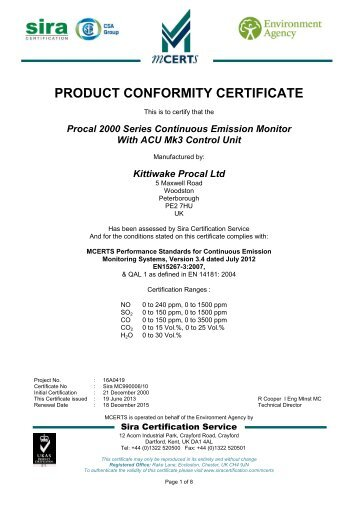 Application Form for Product Certification under the Environment ...