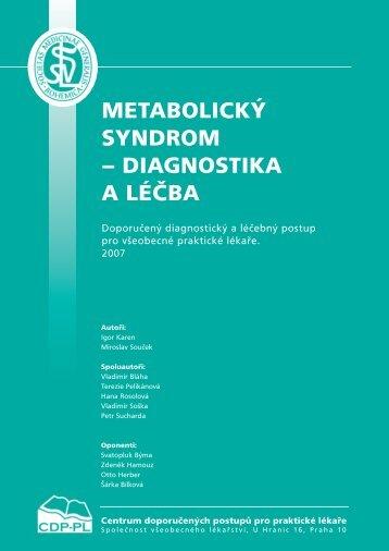 metabolický syndrom.qxd - Společnost všeobecného lékařství
