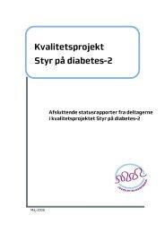 Kvalitetsprojekt Styr på diabetes-2 - Region Midtjylland