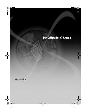 HP OfficeJet G Series - Hewlett Packard