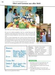 Obst und Gemüse aus aller Welt