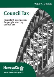 Council Tax - Newcastle City Council