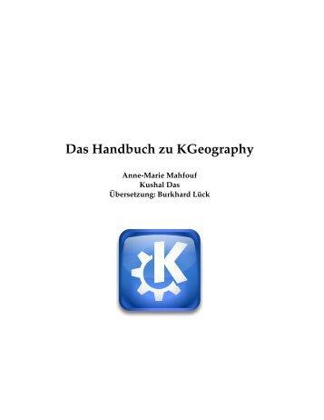 Das Handbuch zu Kgeography - KDE Documentation