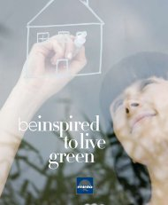 Be Inspired to Live Green - Minto