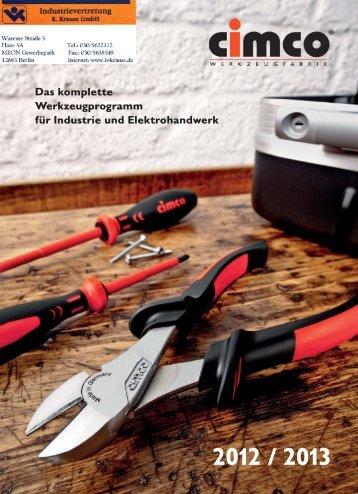 WERKZEUGKOFFER - Industrievertretung R. Krause GmbH