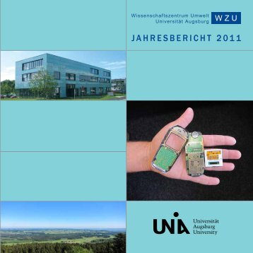 2011 - WissenschaftsZentrum Umwelt - Universität Augsburg