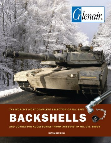 Mil-Spec Backshells and Connector Accessories - Glenair, Inc.
