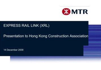 XRL - Hong Kong Construction Association