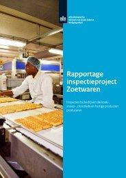 Inspectie bij Zoetwaren bedrijven - Rapportage - Inspectie SZW